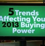 What affects buying power in 2013?