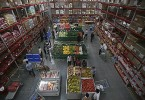 Customers shop at a Best Price Modern Wholesale store in Jammu