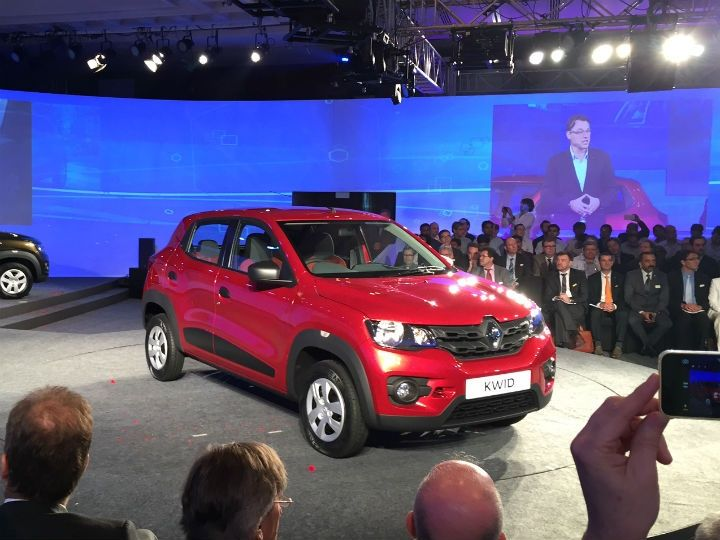Renault Unveils Its Low Cost Hatchback Kwid Passionate In Marketing