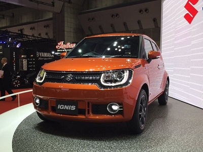 At The 2015 Tokyo Motor Show Suzuki Has Unveiled A Compact Crossover Called Ignis That Is Bound Only To India Based On IM 4 Concept
