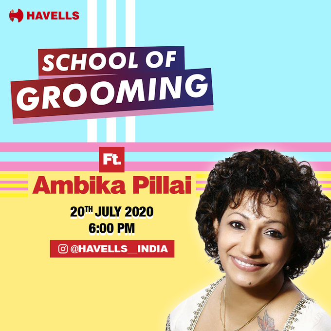 Campaign On Self Grooming By Havells School Of Grooming Passionate In Marketing