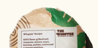 """Burger King's """"redefined"""" whopper"""